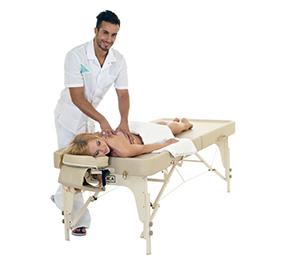 Как размять спину массаж