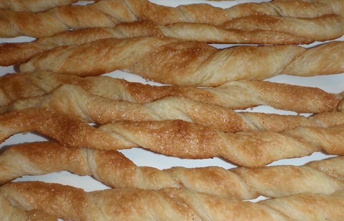 перекрученное печенье