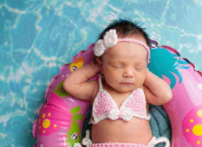 Первое купание