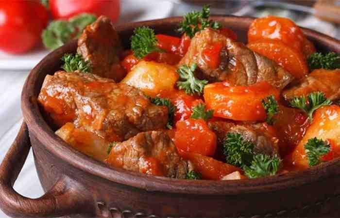 Чанахи в горшочках из свинины рецепт с пошагово 18