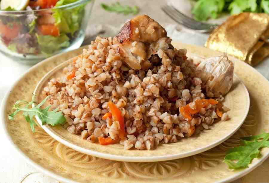 Гречка с курицей со сметаной в мультиварке рецепты с фото