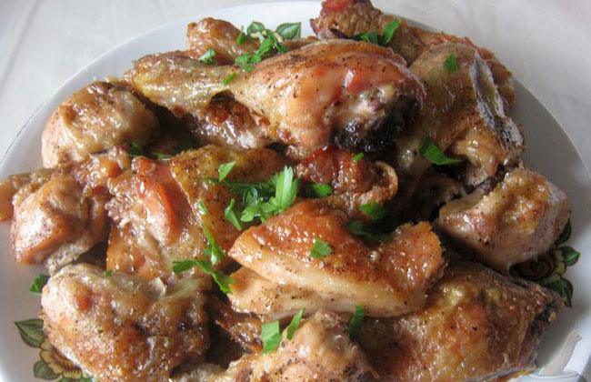 Курица с майонезом в духовке