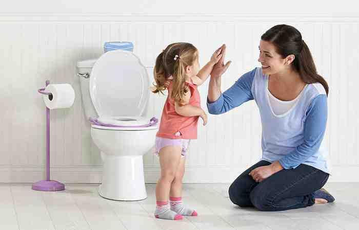как отучить ребенка от горшка