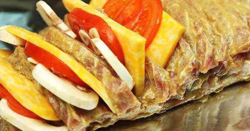 мясо гармошка рецепт