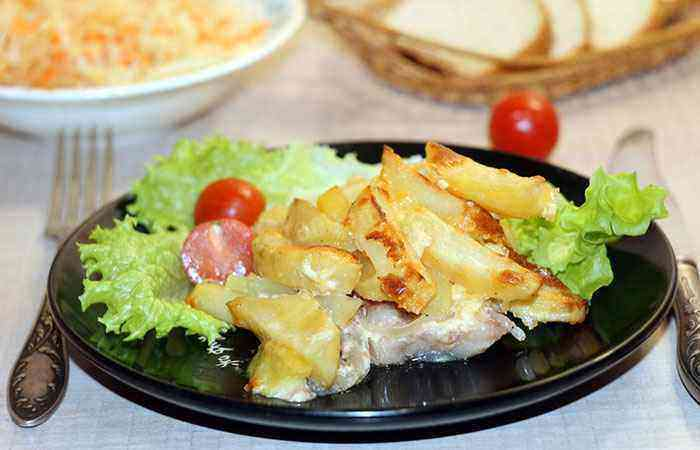 Мясо по капитански в духовке рецепт