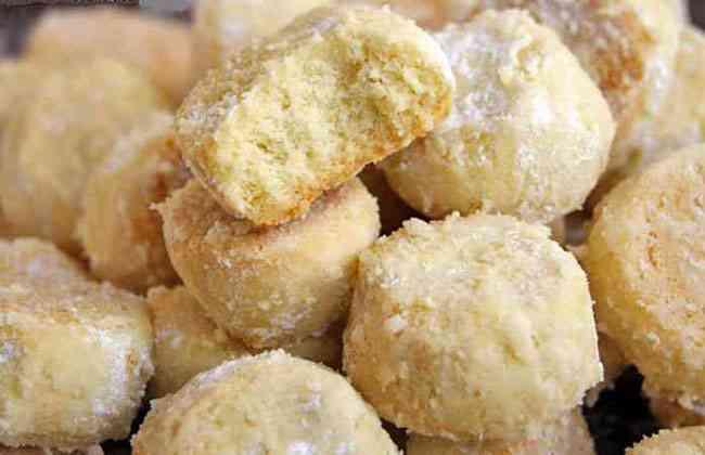 Печенье «Тающий снег» пошаговый рецепт