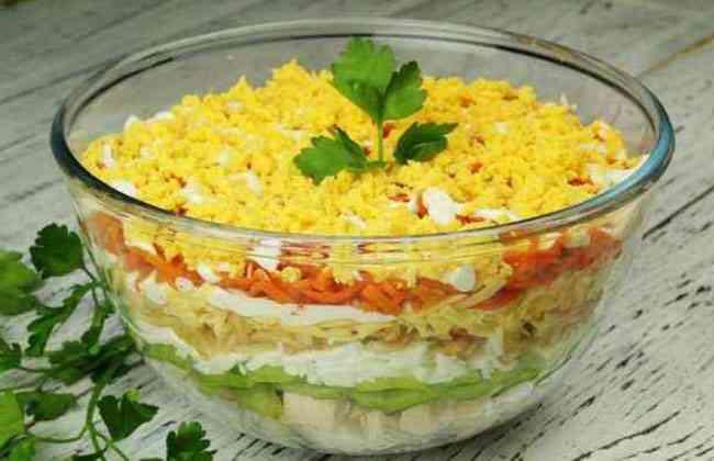 Африка салат рецепт