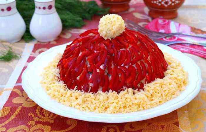Салат Красная шапочка рецепт
