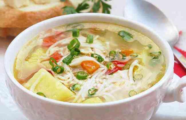 Легкий куриный суп с яйцом рецепты