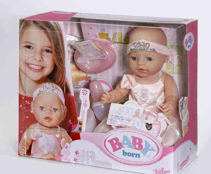 Подарок на 3 года кукла