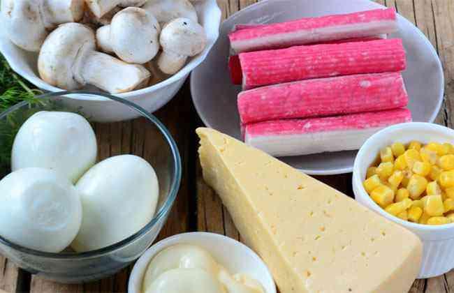 Ингредиенты для салата Подкаблучник