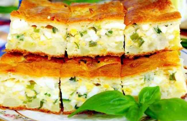 Пирог с яйцом и луком рецепт