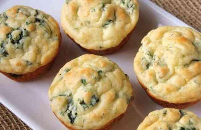 Сырные кексы на завтрак