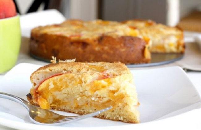Персиковый пирог рецепт