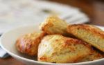Ароматное печенье с сыром в духовке