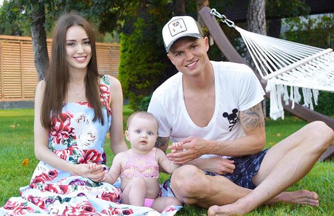 Жена Дмитрия Тарасова беременна во второй раз